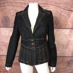 Cache Jean Jacket Size 8